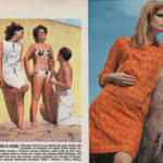 Tunics published on magazines of the time